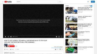 MITCHELL PRO DEMAND - YouTube