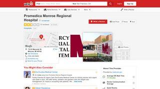 Promedica Monroe Regional Hospital - Hospitals - 718 N Macomb St ...
