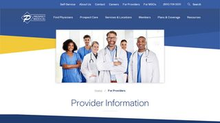 Joining Prospect Medical Group as a Healthcare Provider