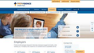 Employers - Providence Health Plan
