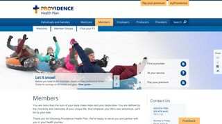 Members - Providence Health Plan