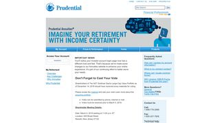 Prudential Annuities