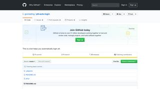 GitHub - gocreating/ptt-auto-login: This is a bot helps you ...