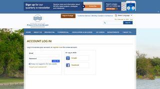 Brownsville Public Utilities Board (BPUB) : Account Log In