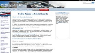 Online Access to Public Records - Monroe County, NY