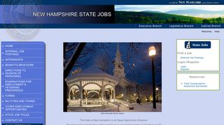 NHFirst - Career Opportunities - NH Dept. of Administrative Services