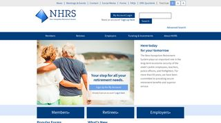 NHRS   New Hampshire Retirement System