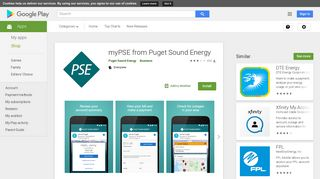 myPSE from Puget Sound Energy - Apps on Google Play