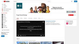 Puget Sound Energy - YouTube