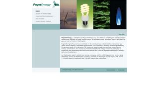 Puget Energy: Home