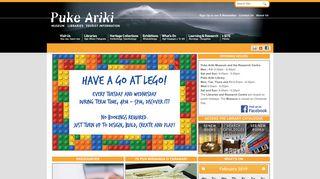 Home - Puke Ariki Museum Libraries Tourist Information Taranaki ...