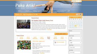 What's On - Puke Ariki Museum Libraries Tourist Information ...