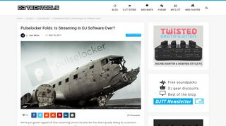 Pulselocker Folds: Is Streaming In DJ Software Over? - DJ TechTools