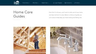 Home Care Guides | Pulte