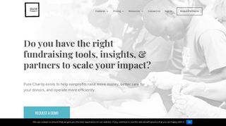 Pure Charity   Grow Your Nonprofit with Pure Charity Fundraising ...
