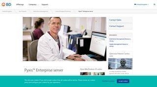 Hospital Server, Pyxis Enterprise Server - BD