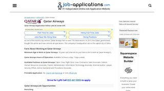 Qatar Airways Application, Jobs & Careers Online