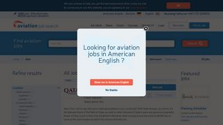 View All Jobs From Qatar Airways | Aviation Job Search