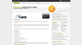 QTS Payroll - Payrollservices.org