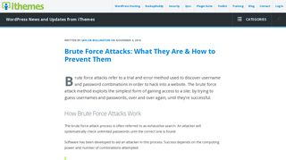 Brute Force Attacks: What They Are & How to Prevent Them - iThemes