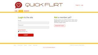 Login - quick-flirt.com