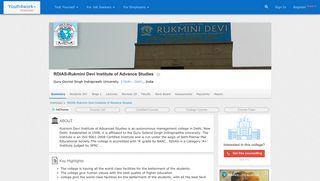 RDIAS - Rukmini Devi Institute of Advance Studies - Reviews ...