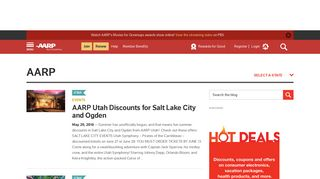 AARP States - Red Butte Garden Archives