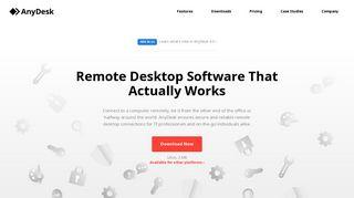 AnyDesk: The Fast Remote Desktop Application