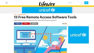 14 Free Remote Access Software Tools (January 2019) - Lifewire