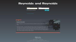 Reynolds and Reynolds: Login