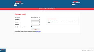 Employee Login - 4myBenefits, Inc.