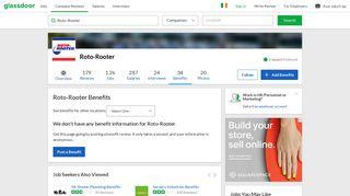 Roto-Rooter Employee Benefits and Perks | Glassdoor.ie