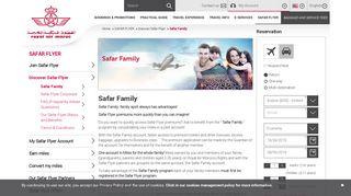 Royal Air Maroc - Safar Family