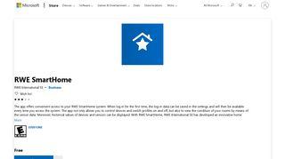 Get RWE SmartHome - Microsoft Store