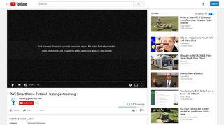 RWE SmartHome Tutorial Heizungssteuerung - YouTube