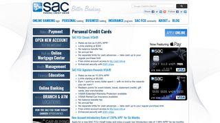 Omaha Credit Card | SAC Federal Credit Union