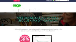 Online Payroll Software   Payroll Packages   Sage One Ireland