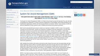 System for Award Management (SAM)   US Department of ...