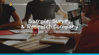 Market Cube - Online Sample, Survey and Research Company