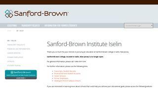 Medical Assistant Technician School Iselin, NJ | Sanford-Brown