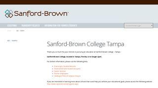 Medical, Design School Tampa, FL | Sanford-Brown College