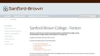 Sanford-Brown College Fenton - Career Education Corporation