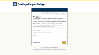 Sign In - Santiago Canyon College