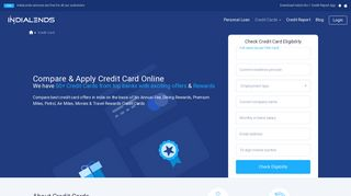 SBI Credit Cards - Apply for State Bank of India Credit Card Online