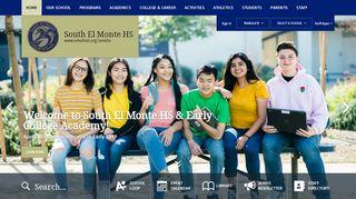 South El Monte HS / Homepage - El Monte Union High School District