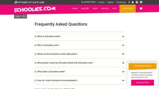 Schoolies Frequently Asked Questions | Schoolies.com