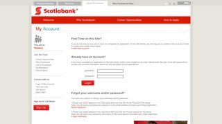My Account - Scotiabank