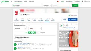 Scotiabank Employee Benefits and Perks | Glassdoor.ca