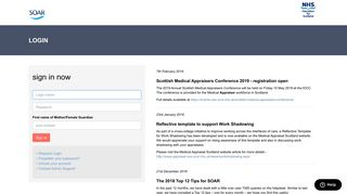 Login to Scottish Online Appraisal Resource - Medical Appraisal ...