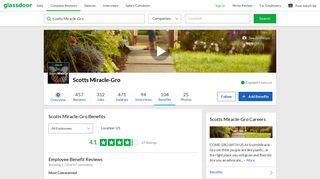 Scotts Miracle-Gro Employee Benefits and Perks   Glassdoor
